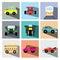 Stock Image : Car icon set illustration eps10