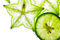 Stock Image : Carambola and lime