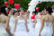 Stock Image : Carnival brides