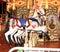 Stock Image : Carousel horses