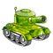 Stock Image : Cartoon army tank