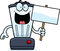 Stock Image : Cartoon Blender Sign