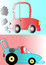 Stock Image : Cartoon cars