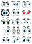 Stock Image : Cartoon eyes