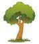 Stock Image : Cartoon Tree