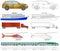 Stock Image : Cartoon vehicles coloring (2/2)