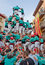 Stock Image : Castells Performance   in Torredembarra, Catalonia, Spain