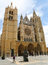 Stock Image : Cathedral of Leon