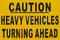 Stock Image : Caution Signboard