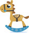 Stock Image :  Cavalo de balanço