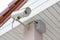Stock Image : CCTV Security Camera