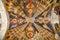 Stock Image : Ceiling frescoes of Hagia Sophia Church in  Trabzon, Turkey