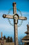 Stock Image : Cemetery Cross 1