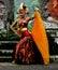 Stock Image : Cendrawasih Dance