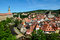 Stock Image : Cesky Krumlov Castle and town