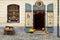 Stock Image :  Cesky, Krumlov, Souvenir shop of bohemian goods