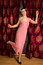 Stock Image : Charleston dancing in flapper dress
