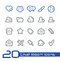 Stock Image : Chat Room Icons // Line Series