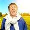 Stock Image : Cheerful Teenager outdoor