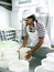 Stock Image : Cheese making - turning the fresh cheeses.