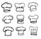 Stock Image : Chef hat icons
