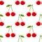 Stock Image : Cherry pattern