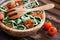 Stock Image : Cherry tomatoes with gluten-free pasta