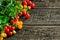 Stock Image : Cherry tomatoes