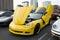 Stock Image : Chevrolet Corvette C6 Z06 on display