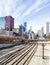 Stock Image : Chicago Railway