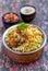 Stock Image : Chicken Biryani