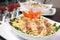 Stock Image : Chicken Fettuccine Alfredo