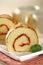 Stock Image : Chiffon Roll cake
