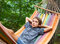 Stock Image : Child in hammock