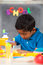 Stock Image : Child in Home School Setting