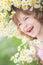 Stock Image : Child in spring