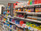 Stock Image : Childrens medicines or drugs in a superstore.