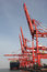 Stock Image : China Qingdao port container terminal