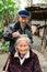 Stock Image : Chinas rural elderly later life