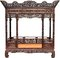 Stock Image : Chinese antique bed