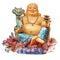 Stock Image : Chinese Buddha isolated