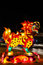 Stock Image : Chinese dragon lantern in the night time