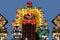 Stock Image : Chinese lanterns show