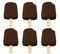 Stock Image : Chocolate ice cream bar