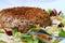 Stock Image : Chopped steak