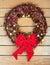 Stock Image : Chrismas wreath