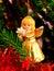 Stock Image : Christmas angel