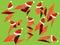 Stock Image : Christmas Arrows Set Pack