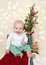 Stock Image : Christmas Baby