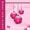 Stock Image : Christmas balls decorations